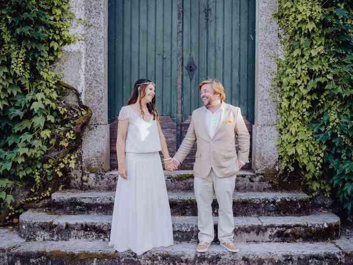 O casamento de Angela e Miguel