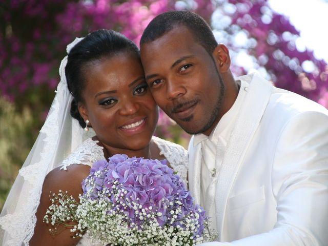 O casamento de Isabel e Gilberto
