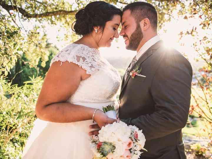 O casamento de Angela e Mickael