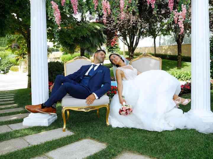 O casamento de Cidália e Rui