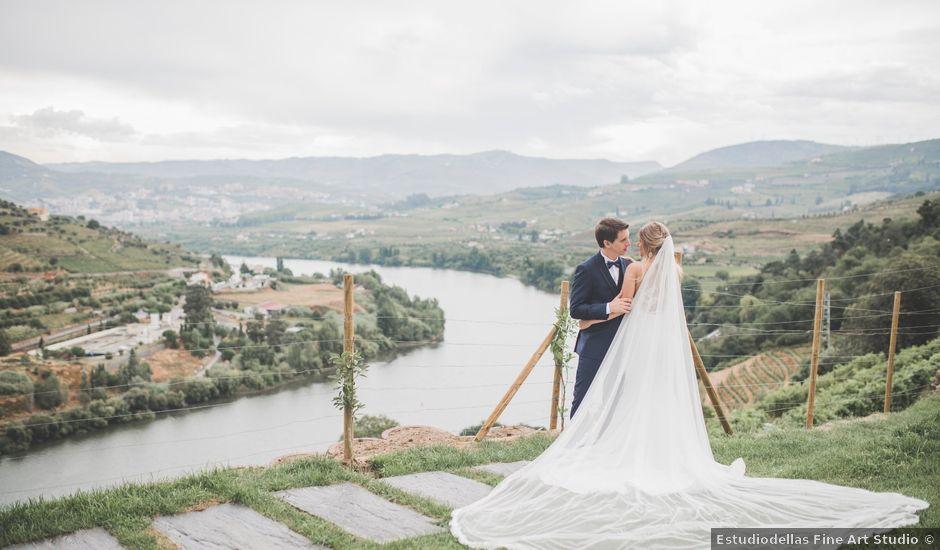 O casamento de André e Carolina em Peso da Régua, Peso da Régua