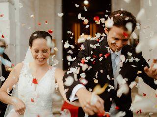 O casamento de Cláudia e Mário