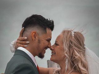 O casamento de Daniel  e Mónica  1