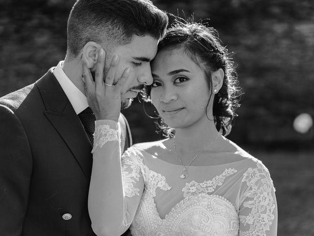O casamento de Aika e Ricardo