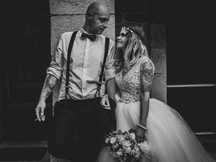 O casamento de Aida e Sérgio