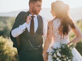 O casamento de Marina e Cedrik