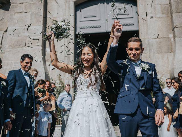 O casamento de Célia e Philippe