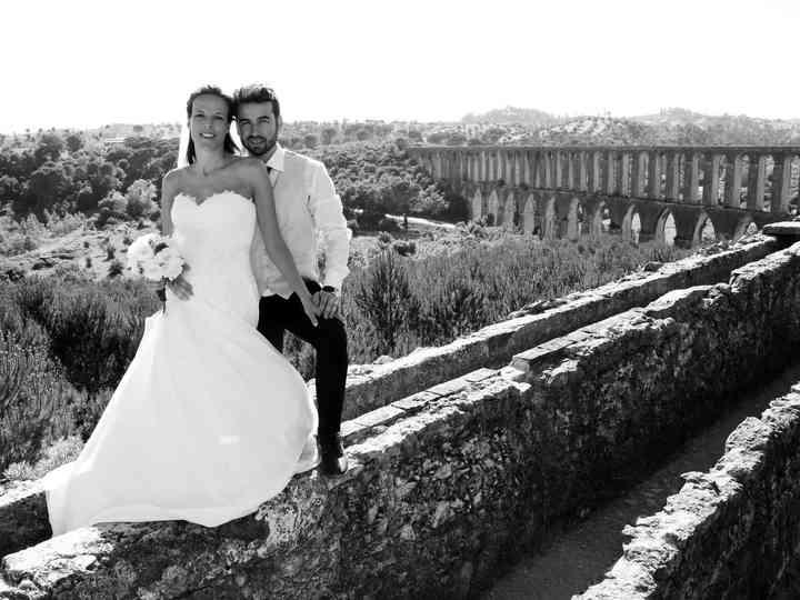 O casamento de Ivy e Ivo