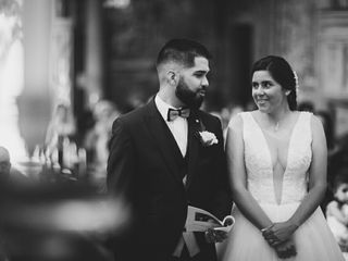 O casamento de Gonçalo  e Filipa