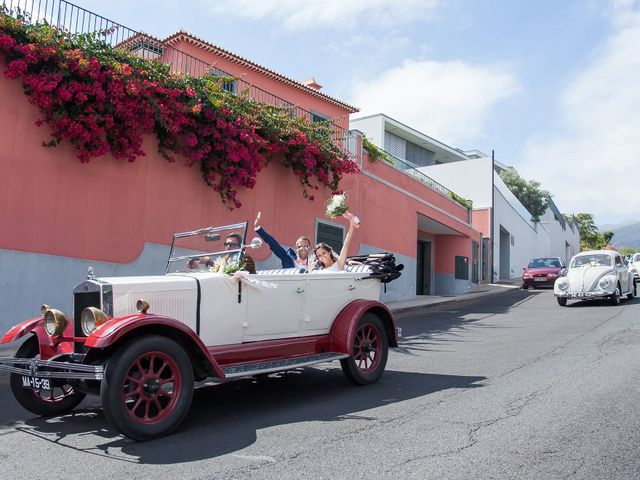 O casamento de Filipe e Catarina em Funchal, Madeira 36