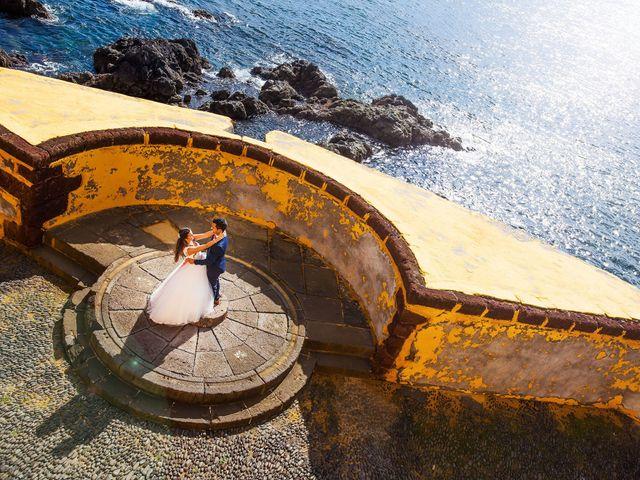 O casamento de Filipe e Catarina em Funchal, Madeira 52
