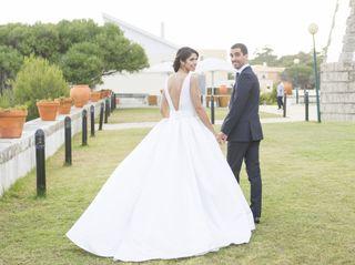O casamento de Nadia e Nuno
