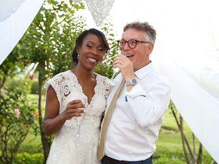 O casamento de Elisângela e Francis