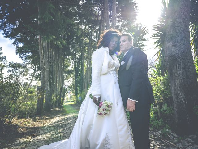 O casamento de Dina e Luís