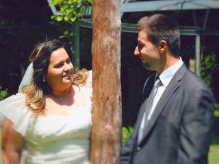 O casamento de Mafalda e Michael