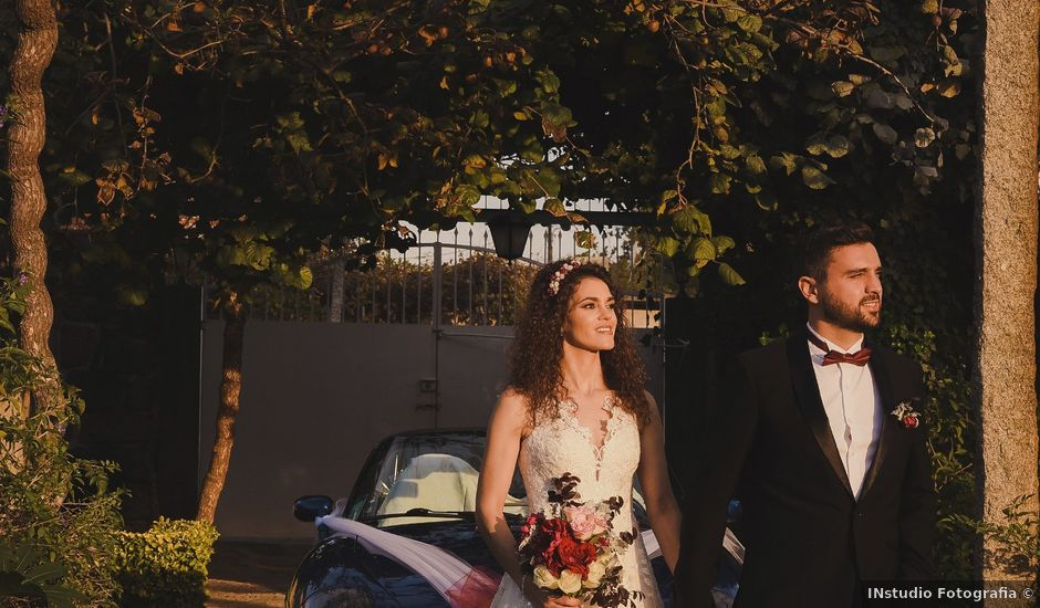 O casamento de Filipe e Cláudia em Guilhabreu, Vila do Conde