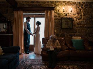 O casamento de Eduarda e Francisco