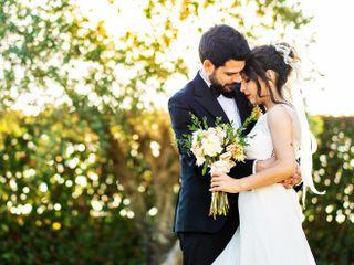 O casamento de Catarina e Edgar
