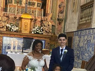 O casamento de Carina e João  1