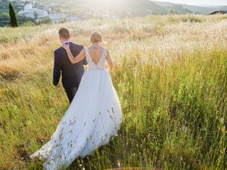 O casamento de Cristiana e Flávio
