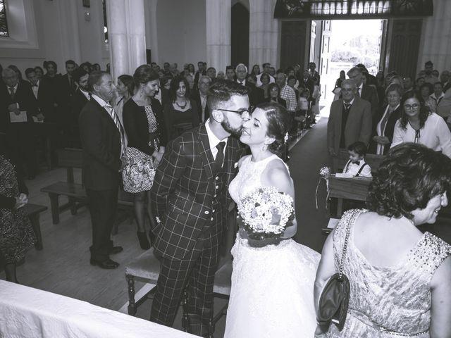 O casamento de Gil e Cândida em Santiago de Litém, Pombal 19