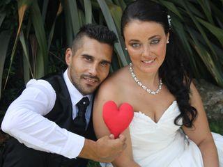 O casamento de Kris e Amadeu