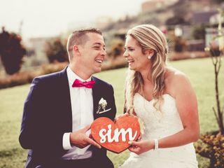O casamento de Carina e Valter
