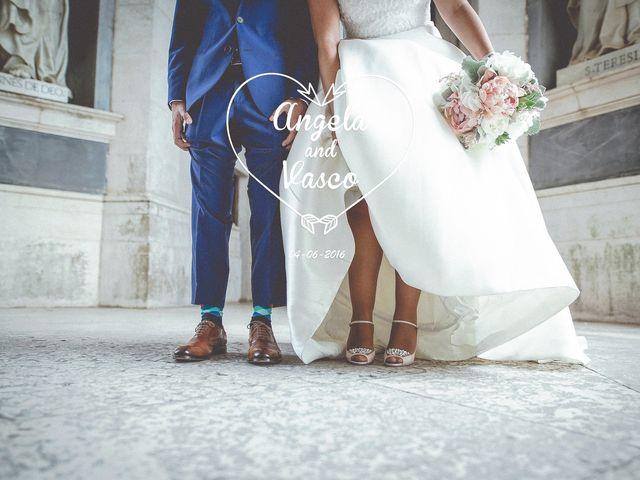 O casamento de Angela e Vasco