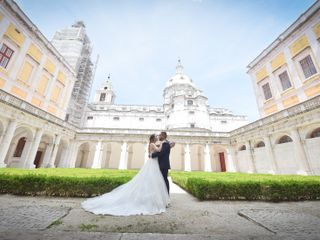 O casamento de Carla e Pedro