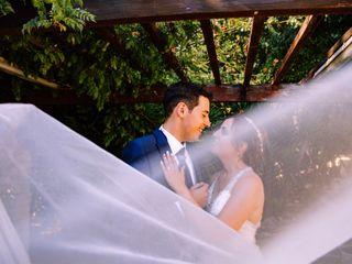 O casamento de Cátia e André