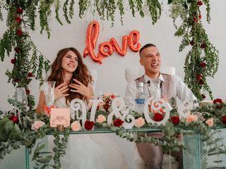 O casamento de Viktoria e Oleg