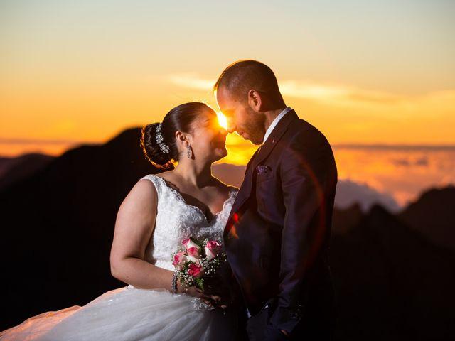 O casamento de Catarina e Luciano