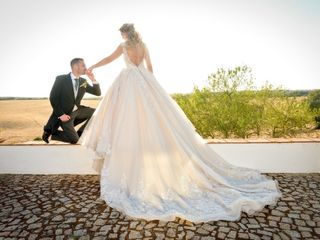 O casamento de Carina e Pedro