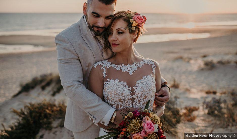 O casamento de Nuno e Sílvia em Fonte da Telha, Almada
