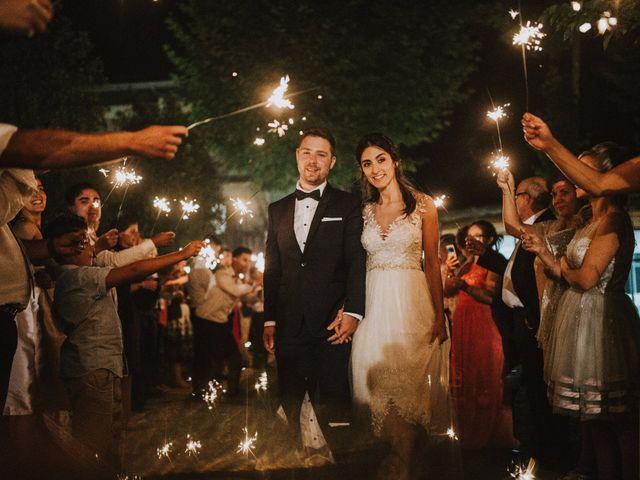 O casamento de Tiago e Milene em Espinhel, Águeda 2