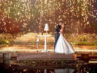 O casamento de Andréa e Grégory