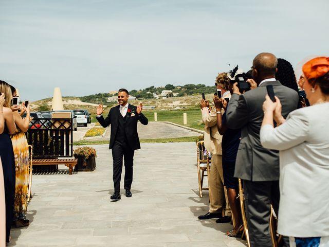 O casamento de Leon e Angela em Guincho, Cascais 21