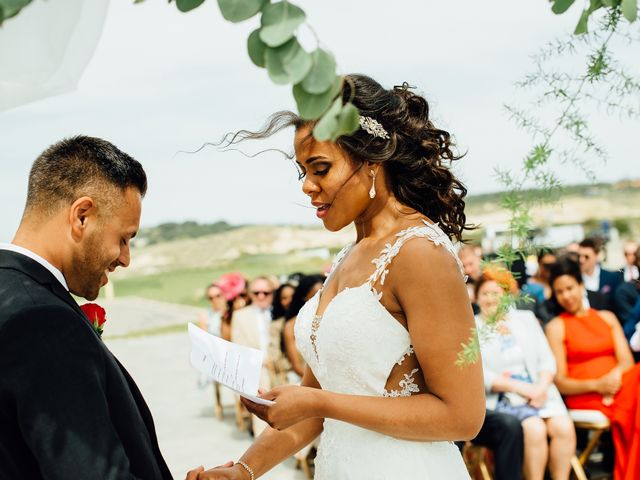 O casamento de Leon e Angela em Guincho, Cascais 31