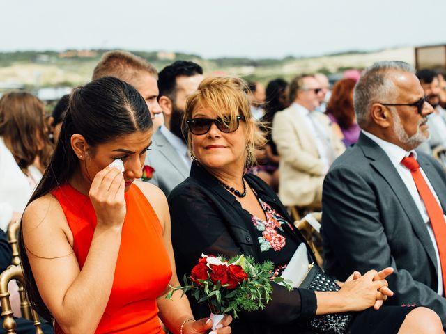 O casamento de Leon e Angela em Guincho, Cascais 33