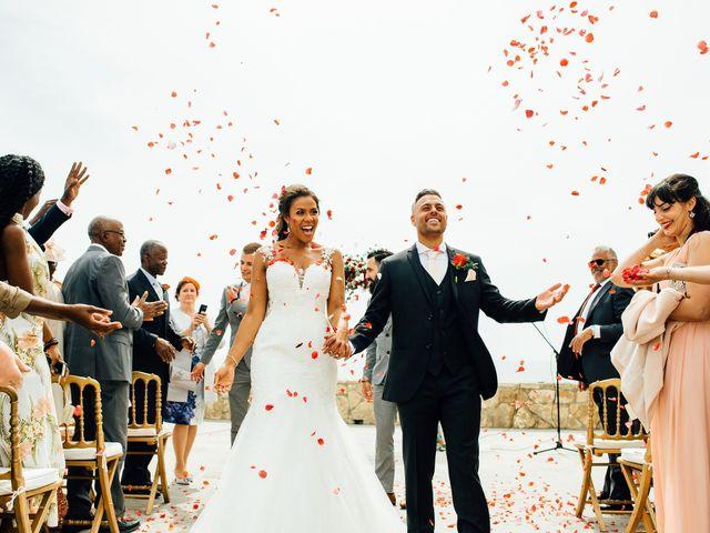 O casamento de Leon e Angela em Guincho, Cascais 1