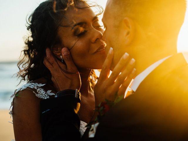 O casamento de Angela e Leon