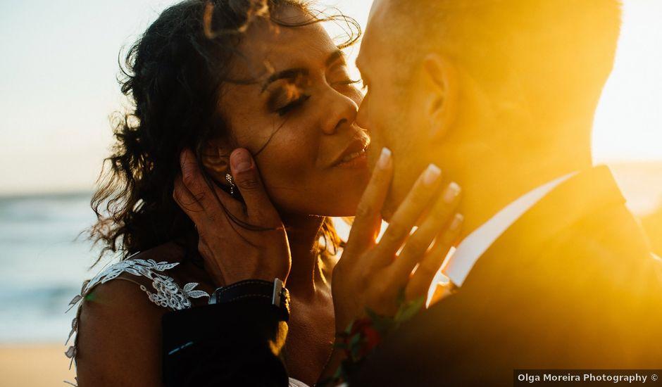 O casamento de Leon e Angela em Guincho, Cascais