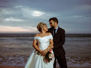 O casamento de Dani e Ricardo