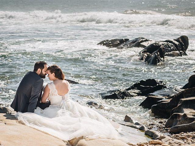 O casamento de Célia e Andrea