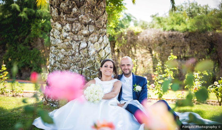 O casamento de Tiago e Catia em Santarém, Santarém (Concelho)