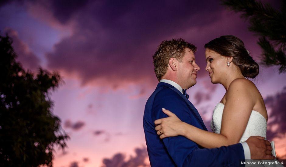 O casamento de Luis e Elsa em Barbeita, Monção