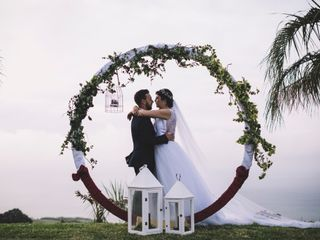 O casamento de Madalena e Nelson