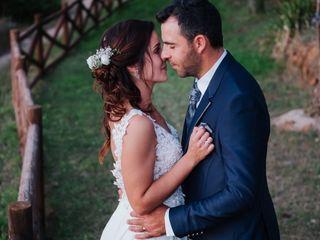 O casamento de Miguel e Adriana