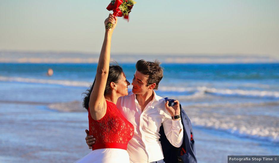 O casamento de Alex e Zília em Porto Covo, Sines