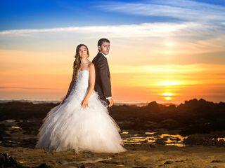 O casamento de Anabela e Cédric